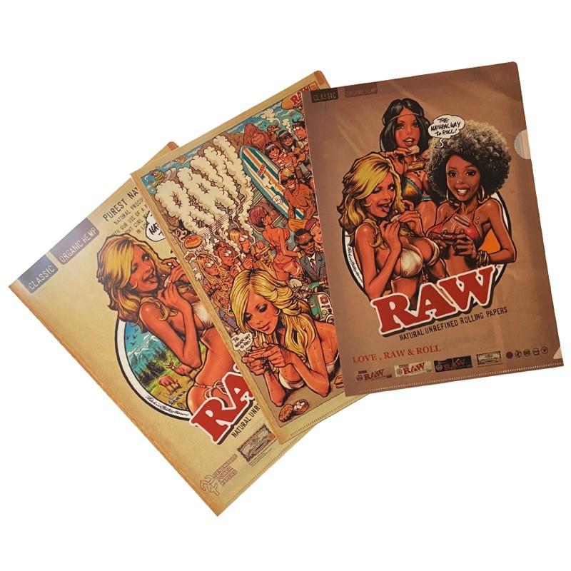 [日本限定] RAW x Rockin'Jelly Bean 資料夾組 (三入一組)