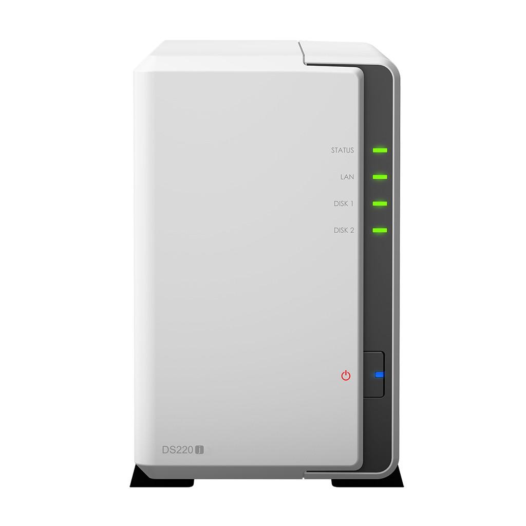 Synology 群暉科技 DS220j 2 Bay NAS 網路儲存伺服器(不含HD) DS220