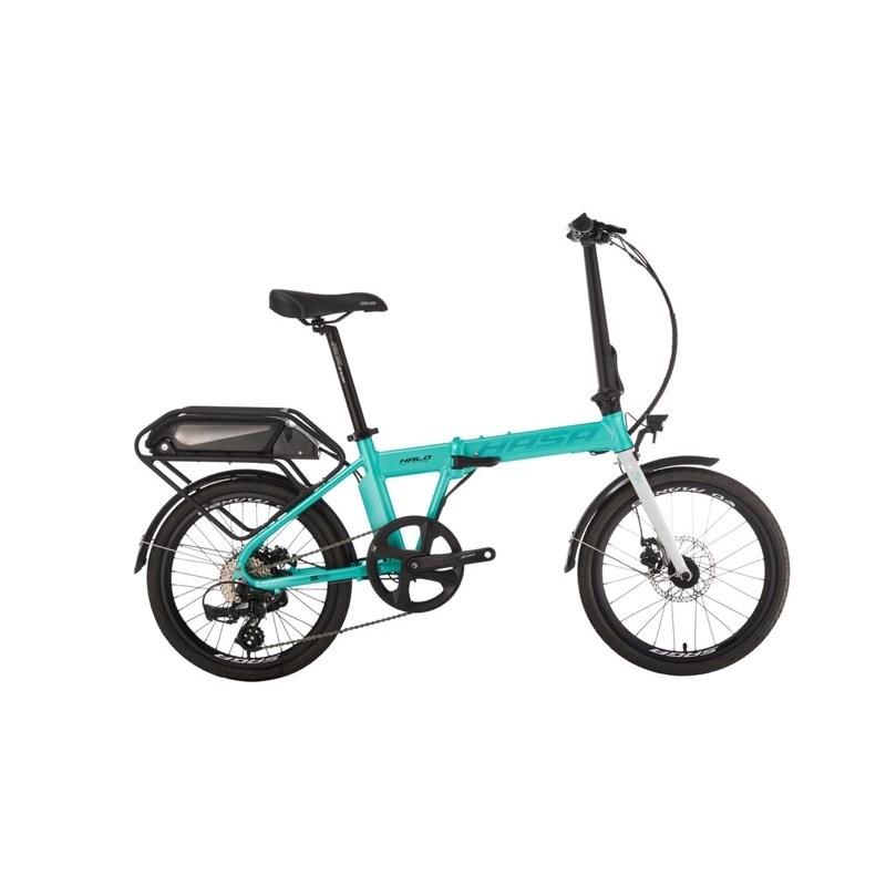 小哲居 2021 HASA HALO 摺疊電動輔助自行車 電動車 電單車 20吋輪 9段變速 有閃電標章 合法上路