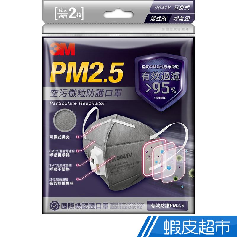 3M PM2.5 空汙微粒防護口罩  2枚入  現貨 蝦皮直送