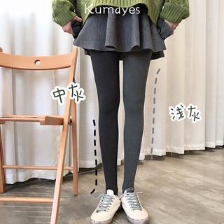 🎀爆款🎀  褲襪加絨打底襪連體襪打底褲1200d 簡約純色秋冬女加厚保暖灰色咖色