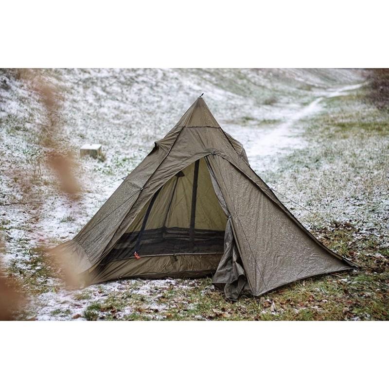 (台灣現貨)Onetigris TIPINOVA Single Tent/單人野營金字塔帳,機車露營登山帳,