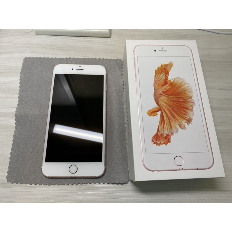 Apple iphone6S plus I6s 大6s  5.5吋 64GB  玫瑰金 二手