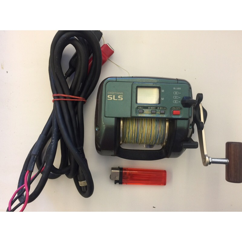 Shimano digitana sls TM3000h電動捲線器