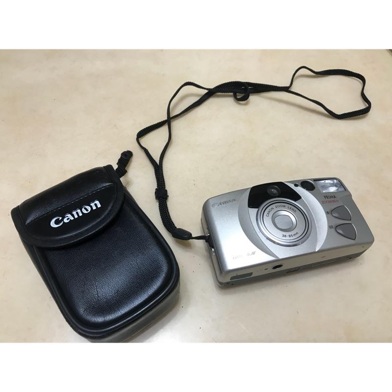 Canon 底片相機 zoom85N 附保護袋 二手