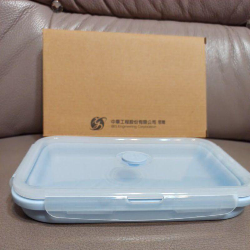 AKWATEK矽膠摺疊保鮮盒 中工股東會紀念品