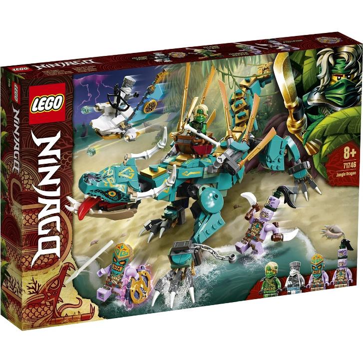 【麥斯與亞當】 LEGO 71746 Jungle Dragon