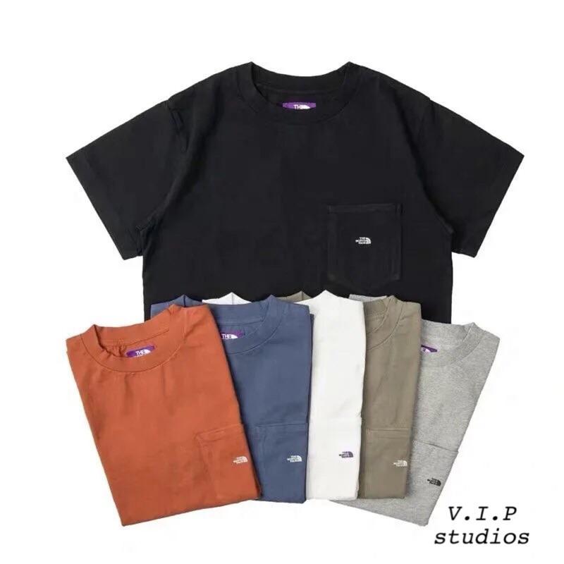 《V.I.P》The North Face purple label 紫標 7oz H/S Pocket 口袋短袖 短T