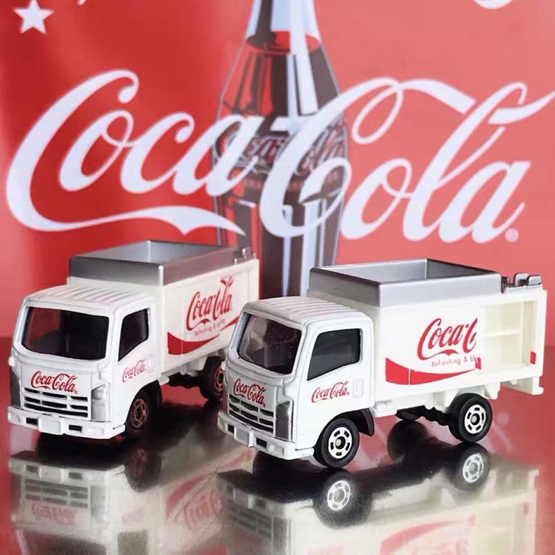 全新散裝Tomica No.105 可口可樂配送車Coca-Cola Route Car白 貨車
