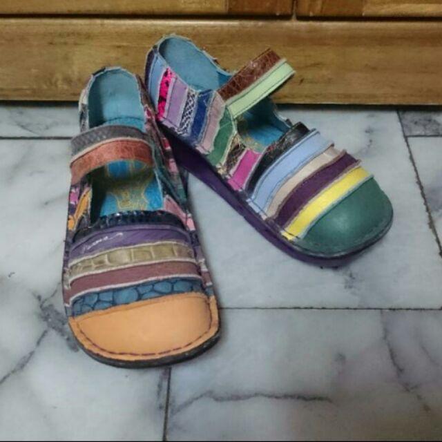 MACANNA麥坎納 鬱金香系列彩虹氣墊鞋