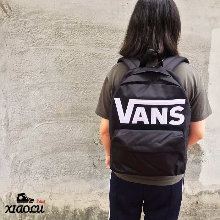 【XIAOLU】 VANS OLD SKOOL II BACKPACK 後背包 經典 基本款 黑色