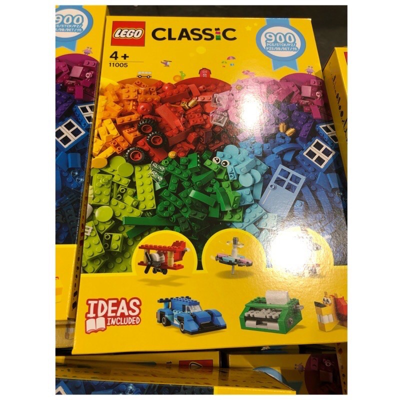 現貨🚛Costco/LEGo歡樂創意顆粒套裝11005
