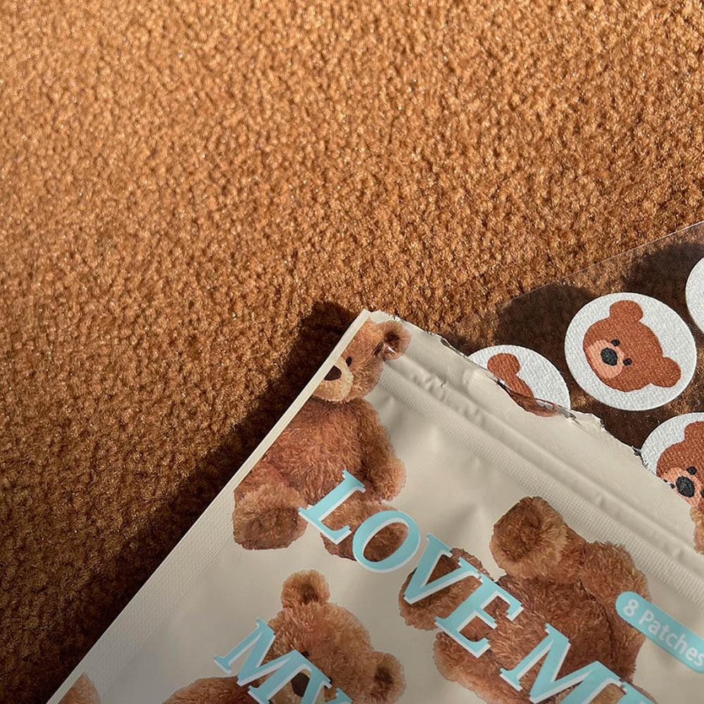阿華有事嗎 AUHA 可愛小熊口罩芳香貼片【F0009】可愛裝飾 配件 貼片 防疫必備