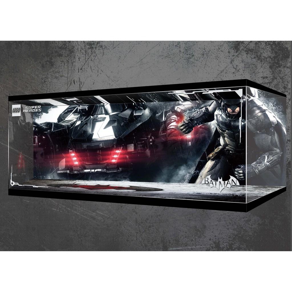 樂高 76023 LEGO 蝙蝠車 Batmobile 專用 亞克力展示盒