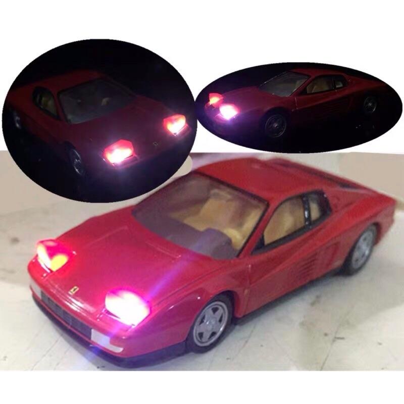 Tomica Premium 06 Ferrari Testarrossa 發光版 附膠盒