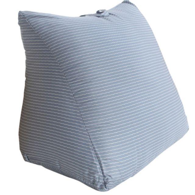 Costco代購   CASA 100%天絲布套三角靠墊 55 x 50 x 60 x 30 公分