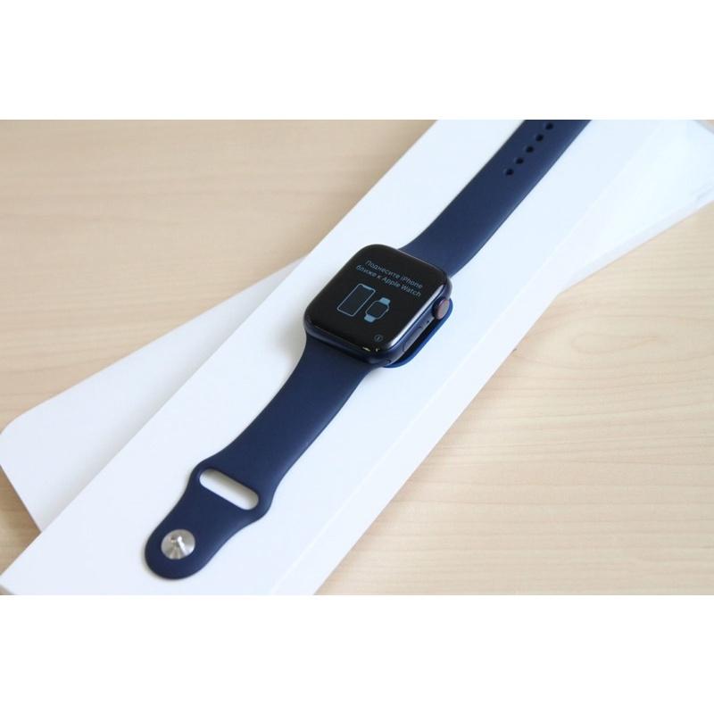 Apple Watch series6 藍 40