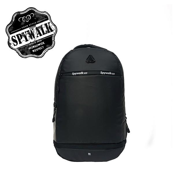 SPYWALK 帥氣休閒後背包 附獨立鞋袋 NO:S9029