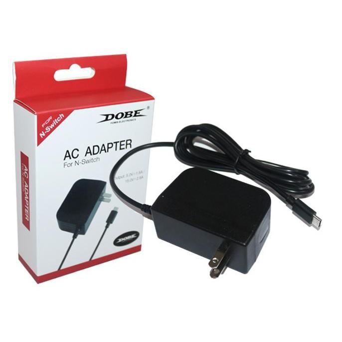 Nintendo Switch 周邊 DOBE AC ADAPTER 快充變壓器 【員林雪風電玩】