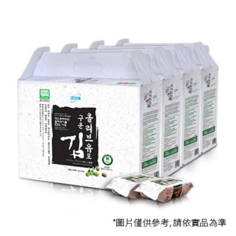 箱購(以箱為單位)4大盒/箱韓國原味香烤海苔