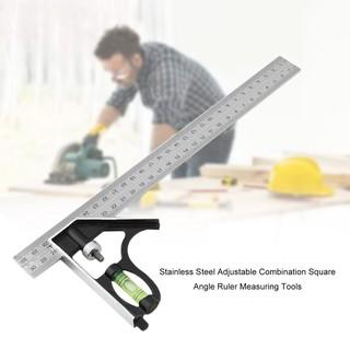 不銹鋼游標卡尺0-300mm 多功能水平調節角度尺 測量工具 LI五金