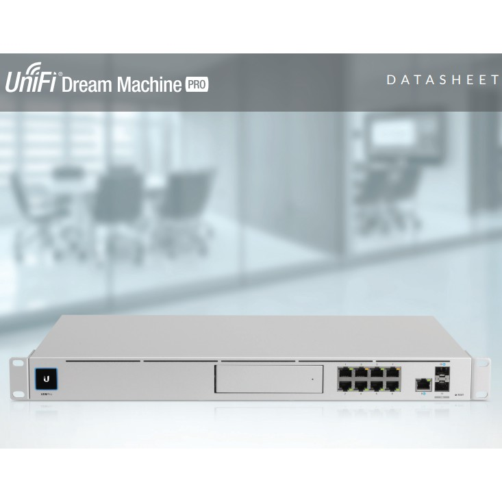 【RouterOS專業賣家】台灣公司貨 UniFi Dream Machine Pro - UDM-Pro