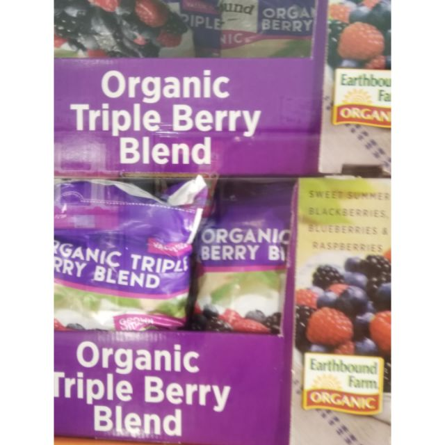 20201127現貨三種莓 EARTH有機冷凍三種綜合莓1.36KG進口三種有機莓果 黑莓 藍莓覆盆莓