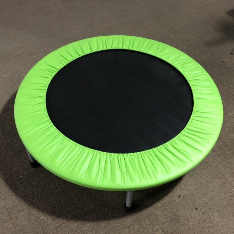 【BROTHER兄弟牌】台灣製40吋有氧跳床 蘋果綠色布 兒童跳躍 健身器材