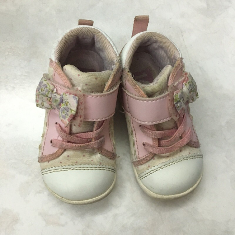 Moonstar🌟二手月星粉色童鞋14cm