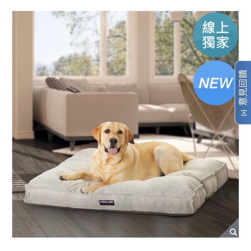Costco 好市多寵物床 科克蘭40吋正方形寵物床 狗床 可拆洗寵物床墊 大型犬 中型犬 睡墊 狗床墊