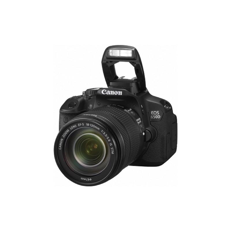[二手出清] Canon 650D 18-135mm 單眼相機 入門款 翻轉螢幕