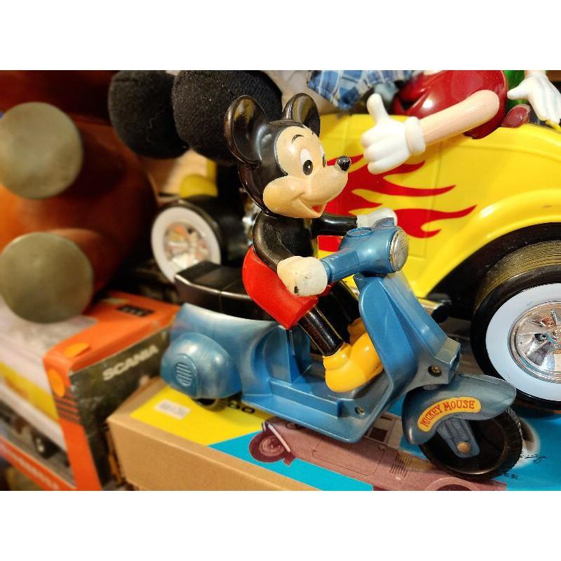 日本製Vespa偉士牌古董玩具增田屋偉士牌米奇米老鼠