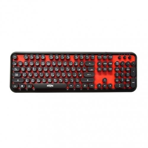 INTOPIC 廣鼎 KBD-USB-65 打字機造型 USB 有線鍵盤