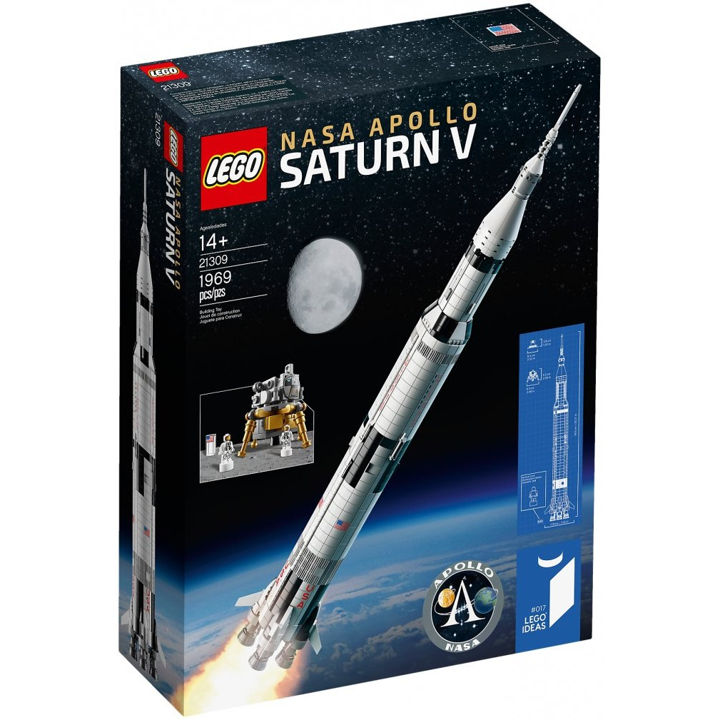 【CubeToy】樂高 21309 IDEAS 農神5號 火箭 - LEGO NASA Apollo Saturn V