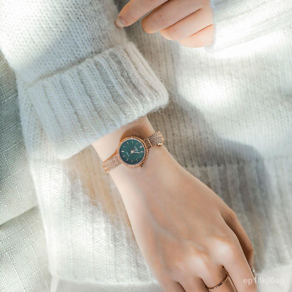 ✨現貨✨ 手鍊手錶 手鍊錶 手鐲錶 手錶 小眾手錶 手鐲手錶ete輕奢麥穗手錶女ins日系手錶女細帶小巧簡約氣質學生韓版