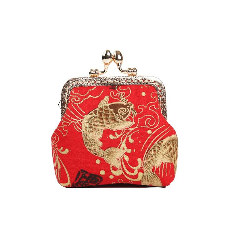 零錢包 Z 超迷你小包包冬天慢工手工錢包荷包袋刺繡diy中國風零錢包女