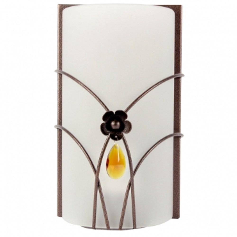 特力屋 水晶玻璃曲線單壁燈