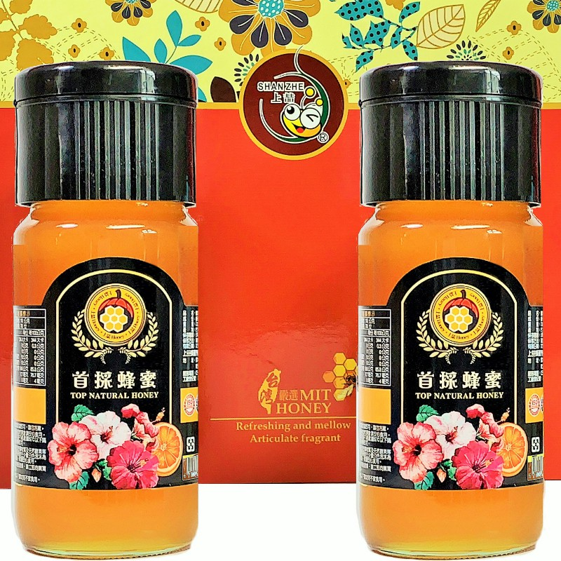 [上喆蜂蜜]首採蜂蜜禮盒/700G(2入)
