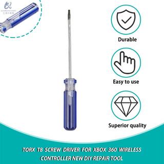 Torx T8 螺絲刀,適用於 Xbox 360 無線控制器全新 DIY 維修工具