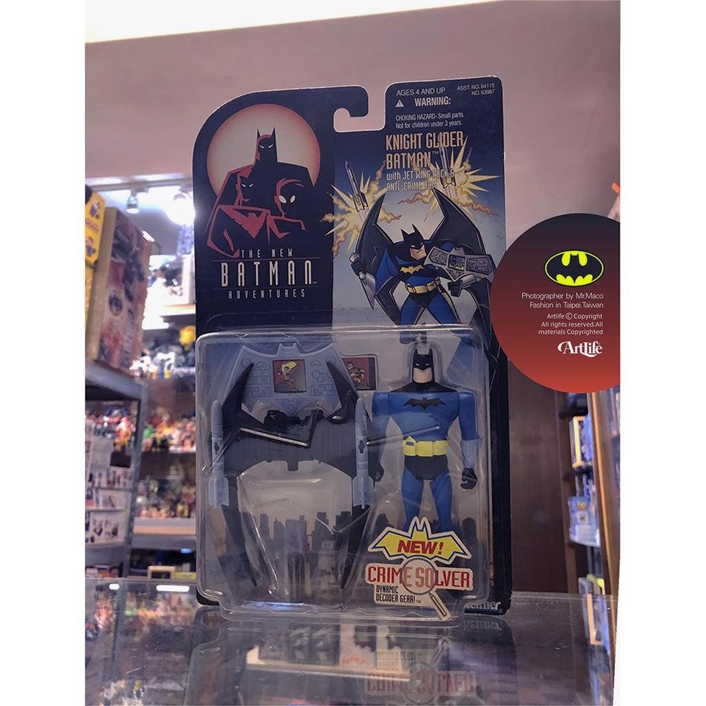 Artlife @ KENNER 1998 DC Crime Solver BATMAN 蝙蝠俠 飛行載具組