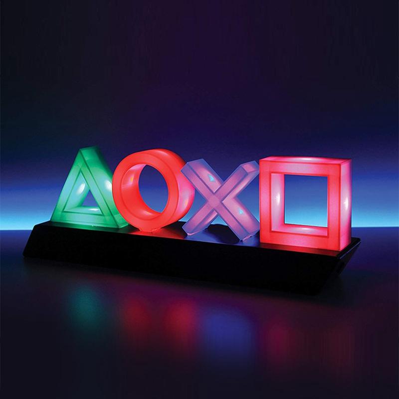2020 Magic Playstation 遊戲機燈心情和新的夜燈 USB 電池