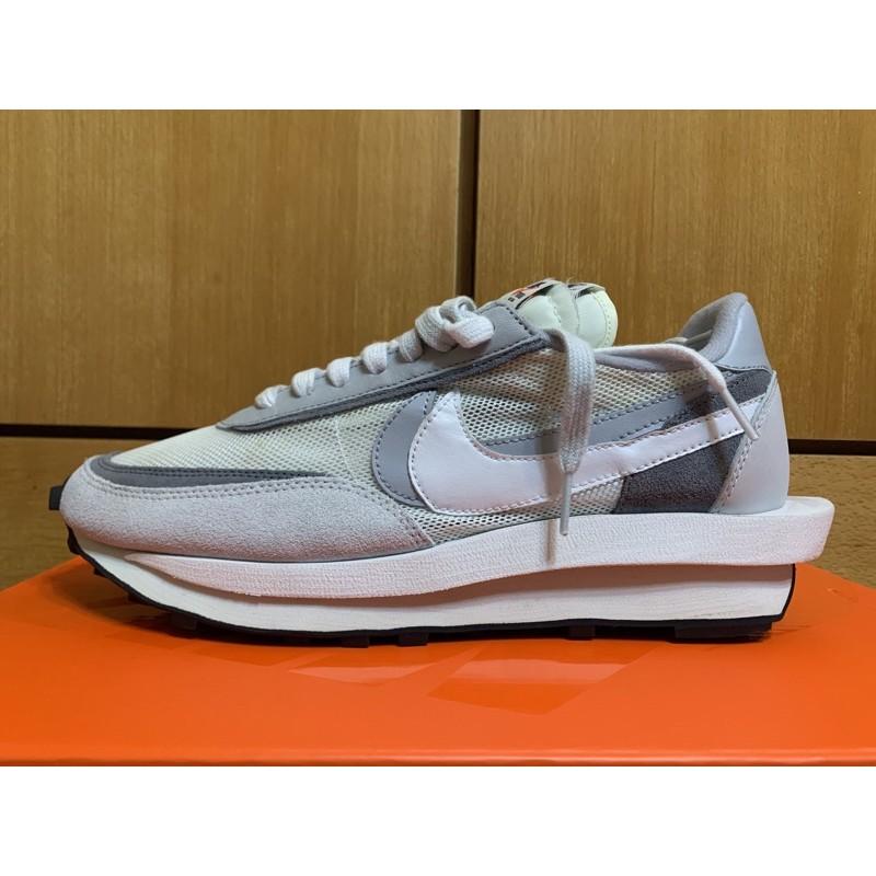 Sacai x Nike LDWaffle 灰白US10