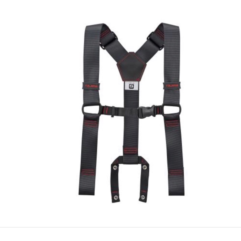 TAJIMA 田島 背負式工作吊帶(黑)YPS-BK/YPM-BK/YPLBK (不含腰帶)僅適用在田島商品