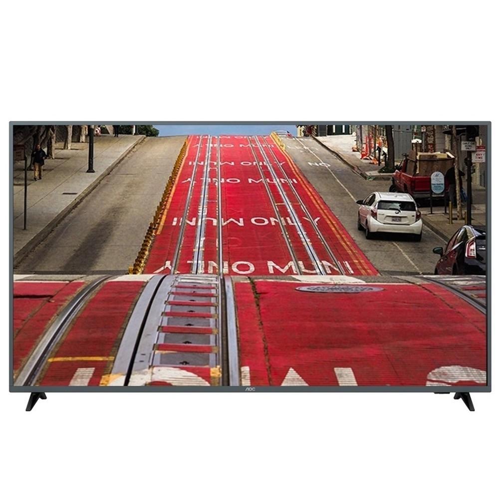 【美國AOC】58吋4K HDR智慧聯網液晶顯示器+視訊盒58U6195