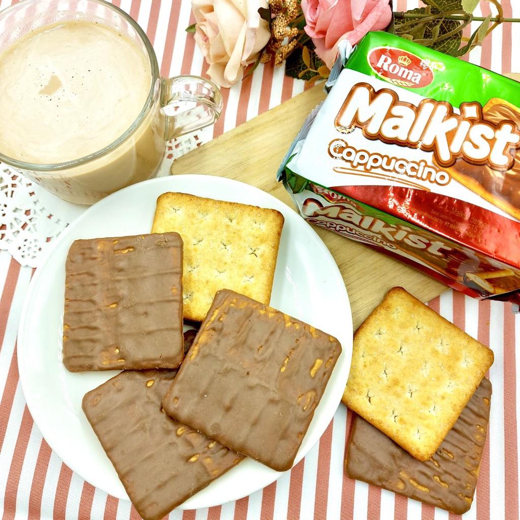 【嘴甜甜】 Romo蘇打餅乾-卡布奇諾 1包 隨手杯 餅乾系列 奶素