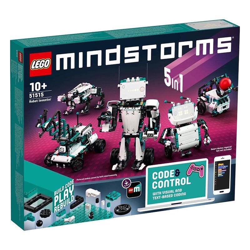 【關注減300】LEGO/樂高51515科技組EV3第四代頭腦風暴5合1編程機器人發明家