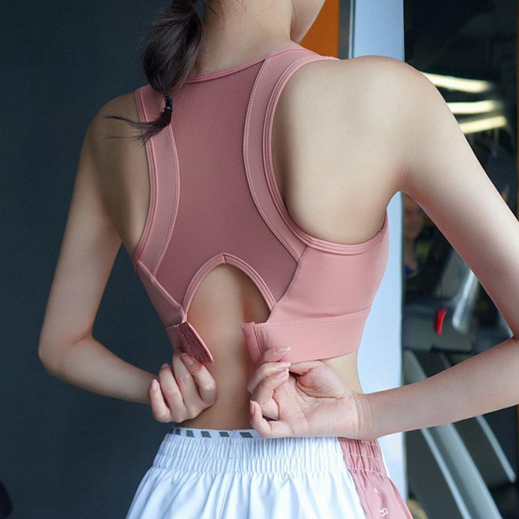 透氣不悶熱 高強度防震運動內衣 超顯胸 雙倍集中效果 高力支撐 健身房瑜珈跑步運動 超推薦款 R26