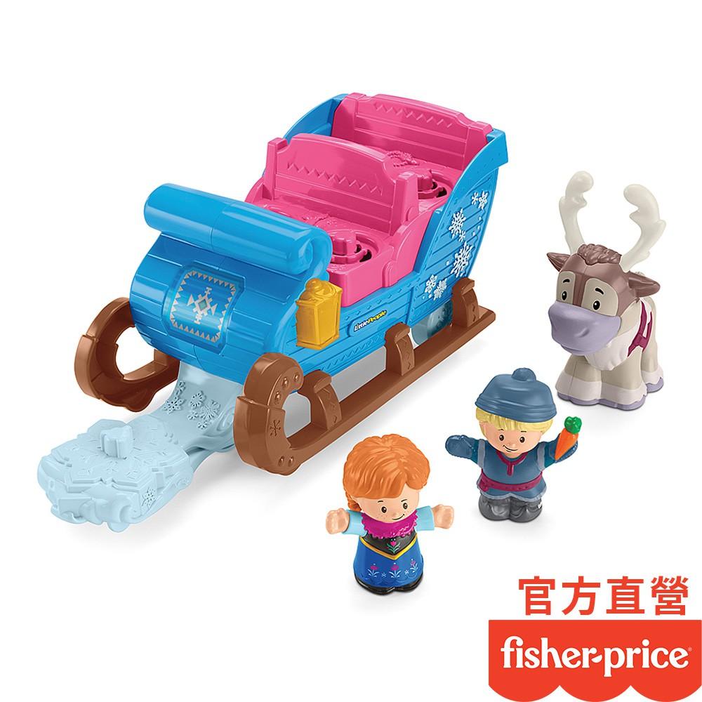 Fisher-Price 費雪 冰雪奇緣雪橇組