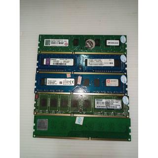 可挑選 桌上型記憶體 DDR3 4G /  8G 1333 1600 雙面 單面 廠牌隨機出貨<二手良品> 苗栗縣