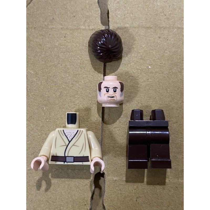 LEGO 樂高 人偶 Wuher 星際大戰 75205 75290